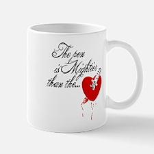 The pen is not mightier Mug