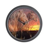 Horse Wall Clocks