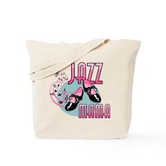 Jazz Mama Tap Dancing Tote Bag
