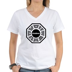 DHARMA Women's V-Neck T-Shirt