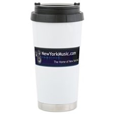 New York Music Travel Mug