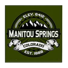 Manitou Springs Tile Coaster