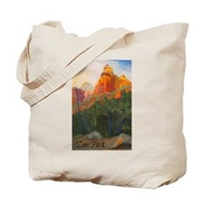 Forbidden Road's End, Zion Tote Bag