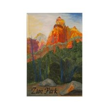 Forbidden Road's End, Zion Rectangle Magnet