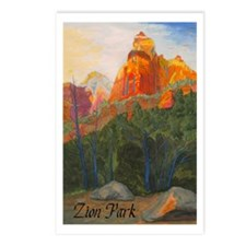 Forbidden Road's End, Zion Postcards (Package of 8