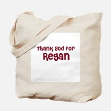 Thank God For Regan Tote Bag