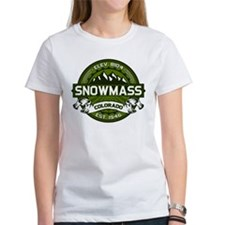 Snowmass Olive Tee