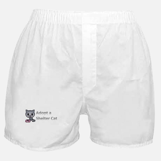 Adopt a Shelter Cat Boxer Shorts