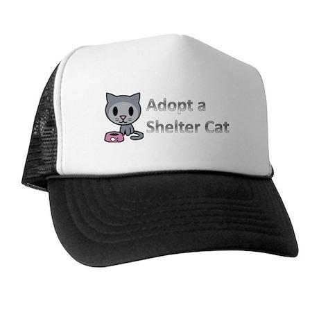 Adopt a Shelter Cat Trucker Hat