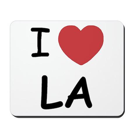 I heart LA Mousepad
