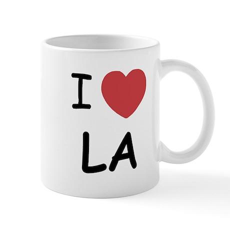 I heart LA Mug
