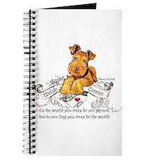 Welsh Terrier World Journal