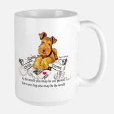 Welsh Terrier World Mug