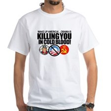 (w/BACK-ART) Obama-KILLING-America Value Tee