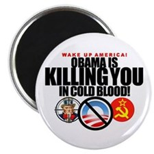 """Obama-KILL'G-YOU-in-Cold-Blood! 2.25""""Mag 100p"""