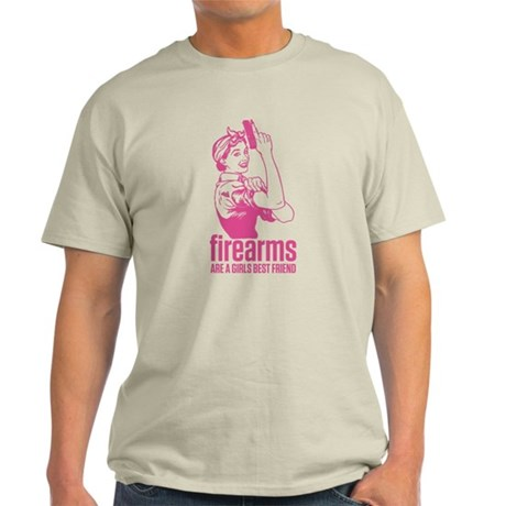 Girls Best Friend. Light T-Shirt
