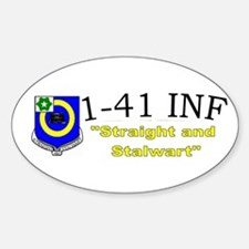 1st Bn 41st Inf Decal