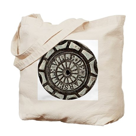 French Drain Cover Tote Bag