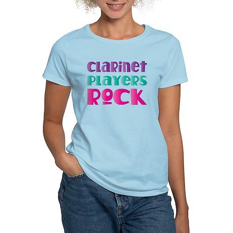 Clarinet Players Rock Women's Light T-Shirt