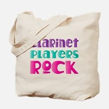 Clarinet Players Rock Tote Bag