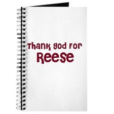 Thank God For Reese Journal
