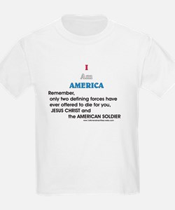 JC & American Soldier T-Shirt