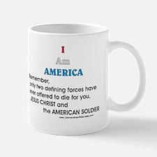JC & American Soldier Mug