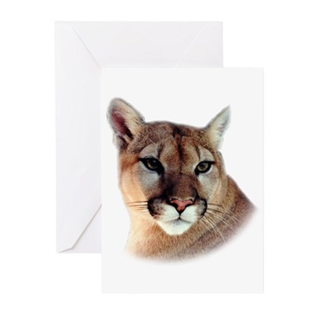 Cindy Printed CougarWear Greeting Cards (Package o