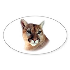Cindy Printed CougarWear Oval Decal