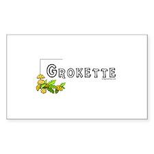 Grokette, paleo, primal Decal