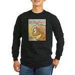Laughing Bud Long Sleeve Dark T-Shirt