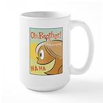 Laughing Bud Large Mug