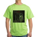 GBMI Outta the Asylum CD Cover Green T-Shirt