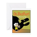 Shadowpuppet Greeting Card