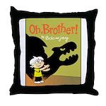 Shadowpuppet Throw Pillow