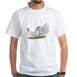 Turkeys: White Holland White T-Shirt