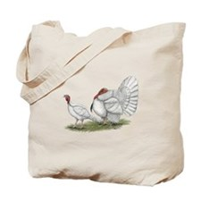 Turkeys: White Holland Tote Bag