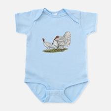 Turkeys: White Holland Infant Bodysuit