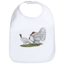 Turkeys: White Holland Bib