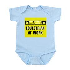 Equestrian At Work Infant Bodysuit