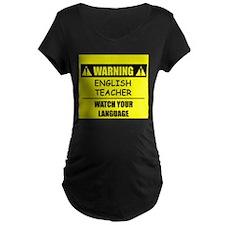 WARNING: English Teacher T-Shirt