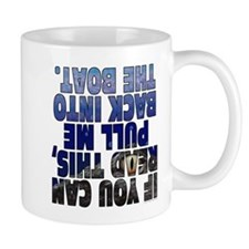 If you can read this - alligator Mug