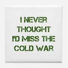 Cold War Tile Coaster