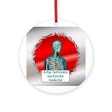 X-Ray Technician Ornament (Round)