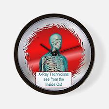 X-Ray Technician Wall Clock
