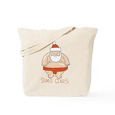 Sumo Santa Tote Bag