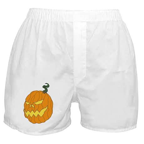 Halloween Pumpkin Art Boxer Shorts