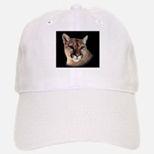Cindy Black Cougar Stuff Baseball Baseball Cap