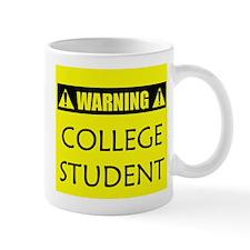 WARNING: College Student Mug