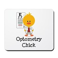 Optometry Chick Optometrist Mousepad